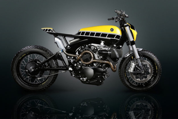 Yamaha Virago tracker by Jody Milhouse