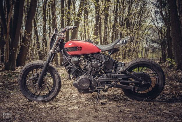 Yamaha Virago XV920R tracker by Moto Adonis