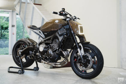 Testbed: A Yard Built Yamaha XSR900 crammed with cutting-edge tech