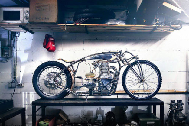 Custom Jawa 500 by Zillers Garage of Moscow