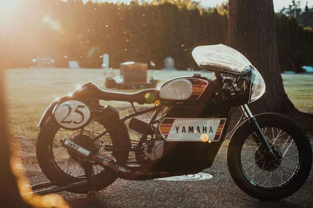 Custom Yamaha DT250 by Enginethusiast
