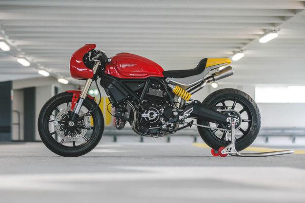 Custom Scrambler Ducati 1100 by deBolex