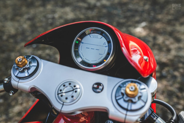 Red Hot: A custom Ducati Scrambler from deBolex Engineering
