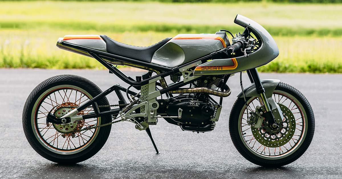 Pocket Rocket: Sticking a Ducati 250 into a Moto3 chassis