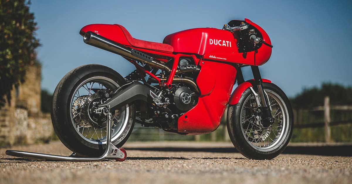 Red Hot: deBolex's Ducati Scrambler Racer