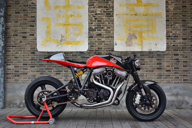 Harley-Davidson Sportster cafe racer by Danmoto