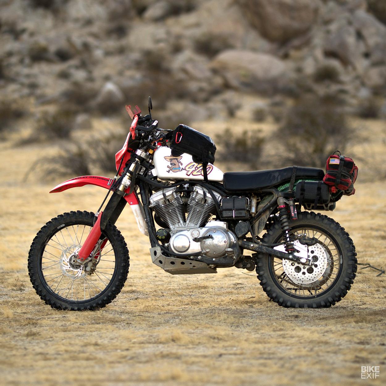 The Frijole 883: Biltwell's heavyweight Harley race bike | Bike EXIF