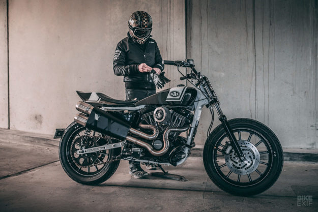 Harley Sportster tracker by Gasoline Motor Co.