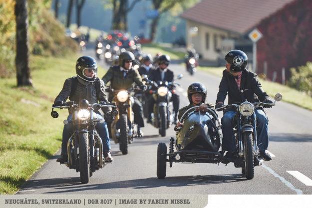 The 2018 Distinguished Gentlemans Ride: Switzerland
