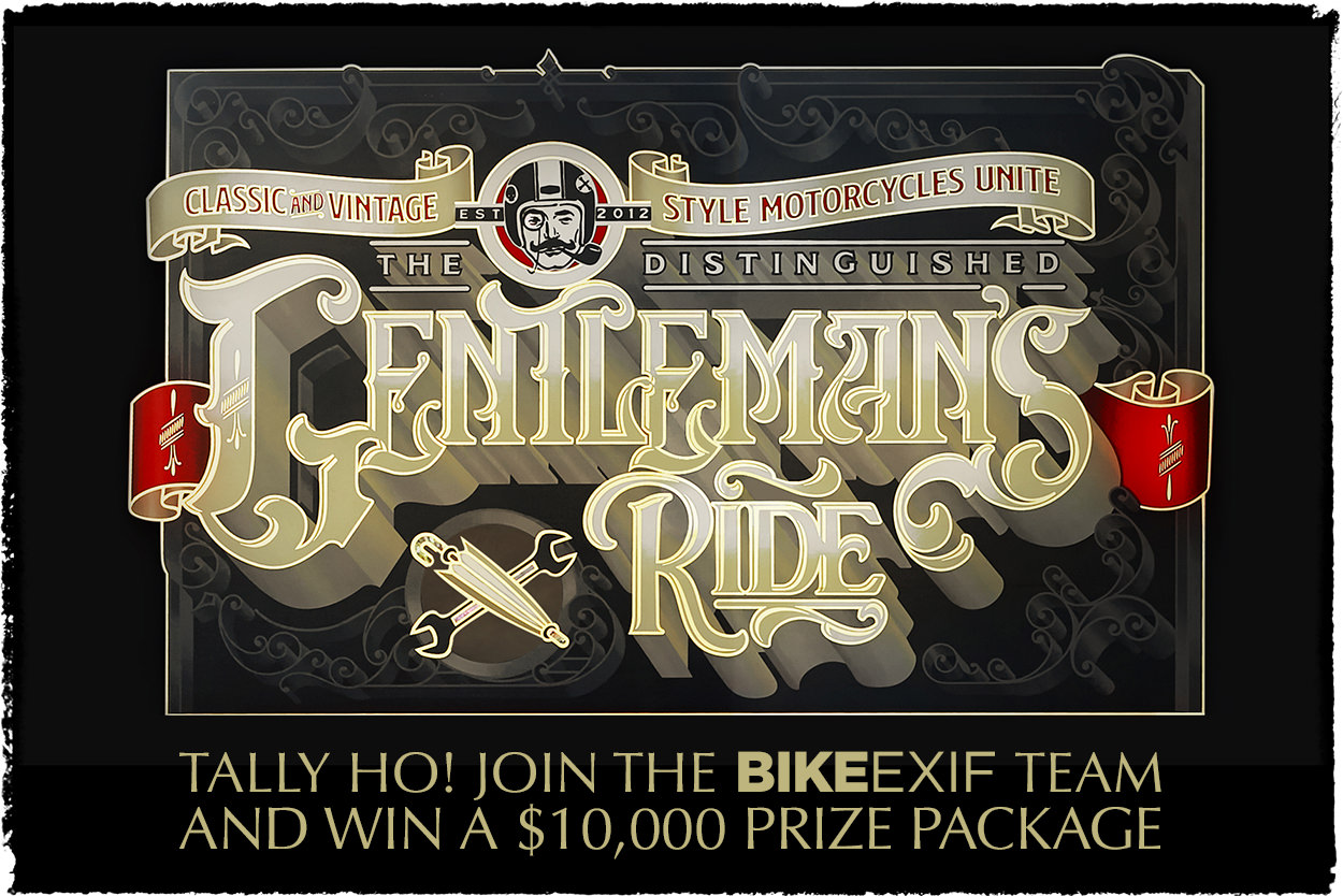 The 2018 Distinguished Gentlemans Ride