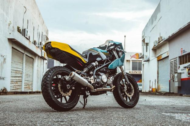 Custom Benelli TNT 300 by Beautiful Machines