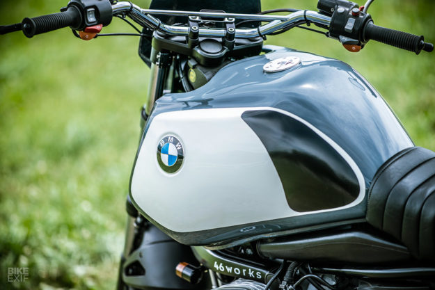 boxing clever a revamped bmw r1150gs from 46works bike exif. Black Bedroom Furniture Sets. Home Design Ideas