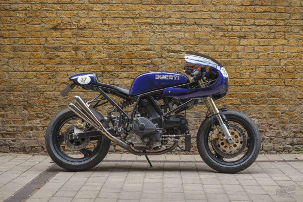 Rob Jarvis' Ducati 750SS racer
