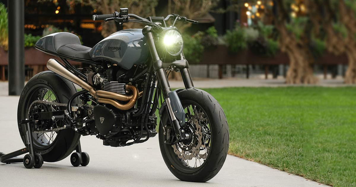 Extreme Machine: Unscrambling the Triumph Scrambler