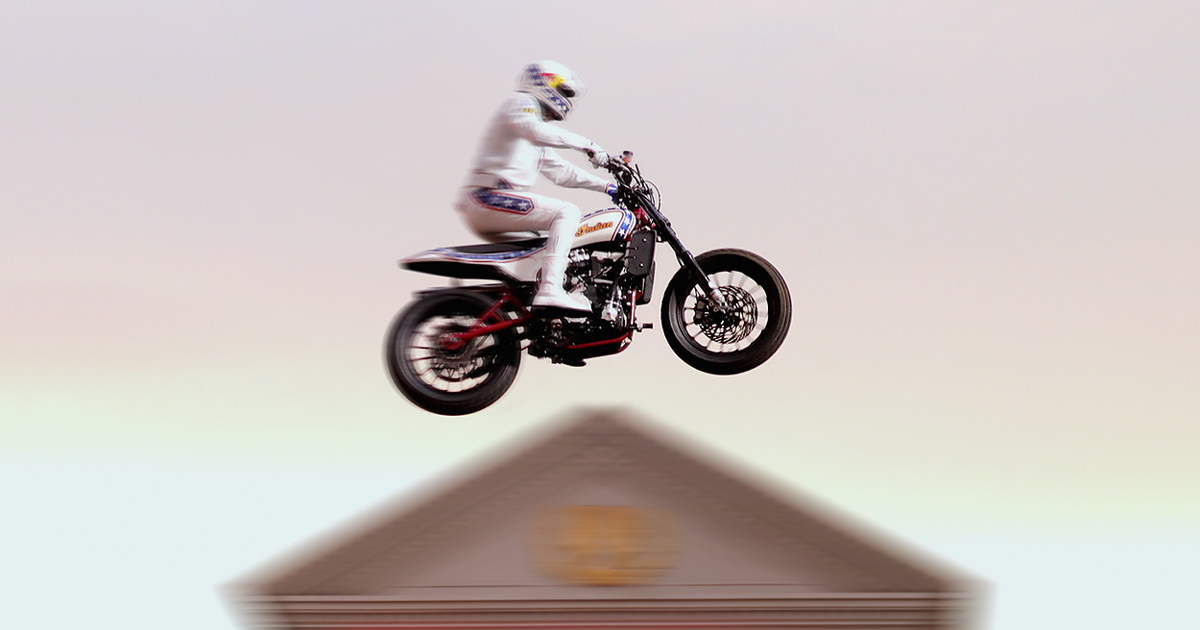Damage Control: How the 'Evel Knievel' FTR750 was built