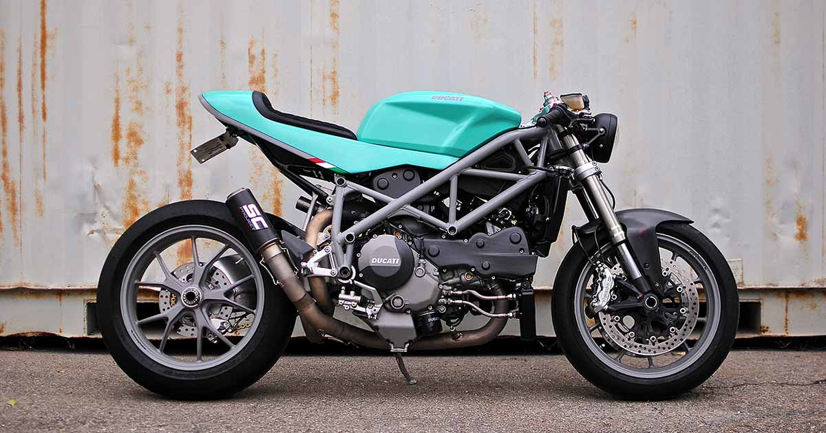 Can-Am Cafe: A Ducati 848 with dual nationality