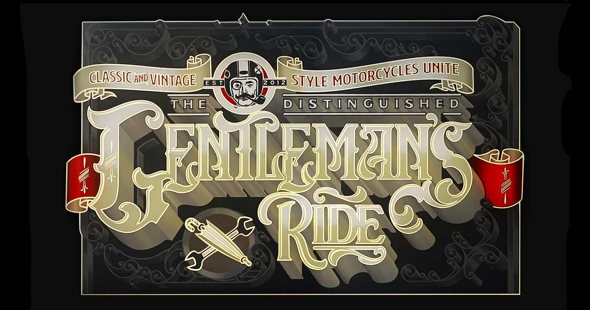 Bike EXIF joins The Distinguished Gentleman's Ride