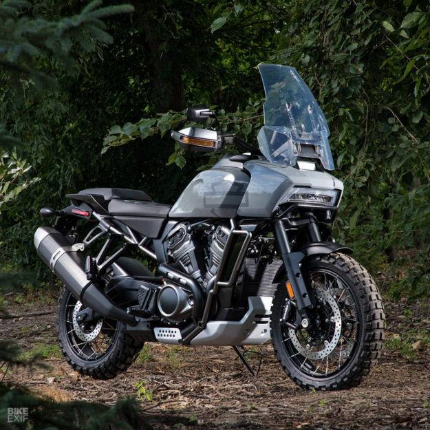Harley Pan America prototype