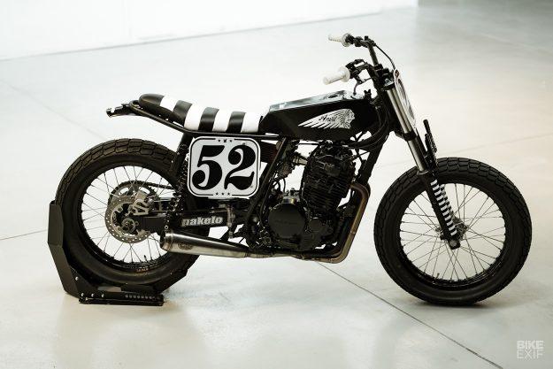 Anvil Motociclette's Honda XR600 flat tracker
