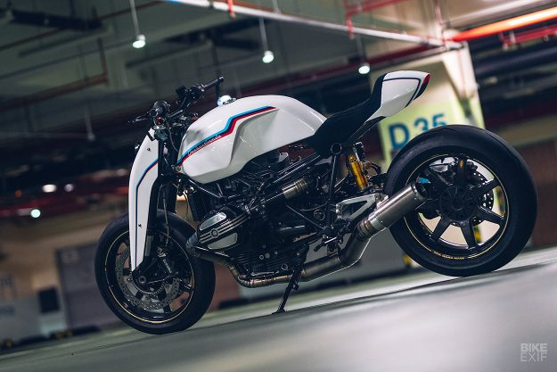 BMW R nineT cafe racer by Onehandmade