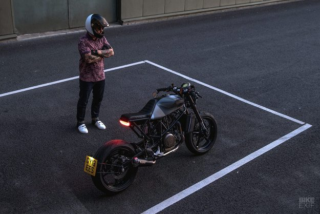 The first custom Husqvarna Vitpilen, by Ironwood