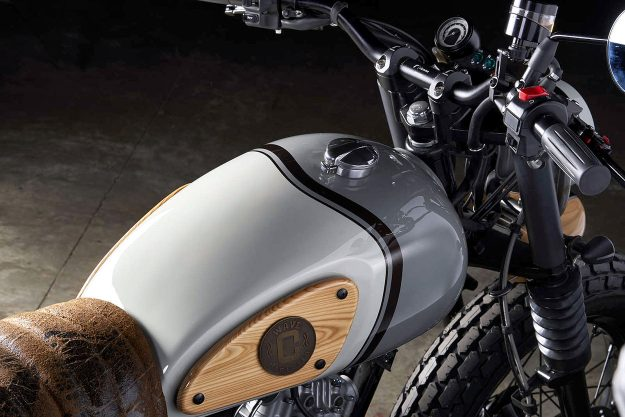 Custom Suzuki VanVan by Officine GP Design