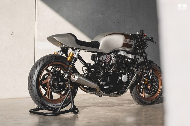Honda Nighthawk 750 cafe racer by Kaspeed
