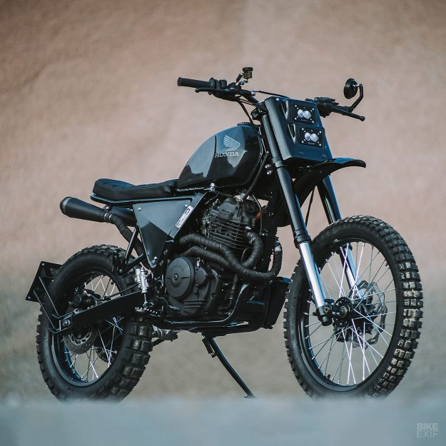 a scrambled honda nx 650 from asphalt and gravel bike exif. Black Bedroom Furniture Sets. Home Design Ideas