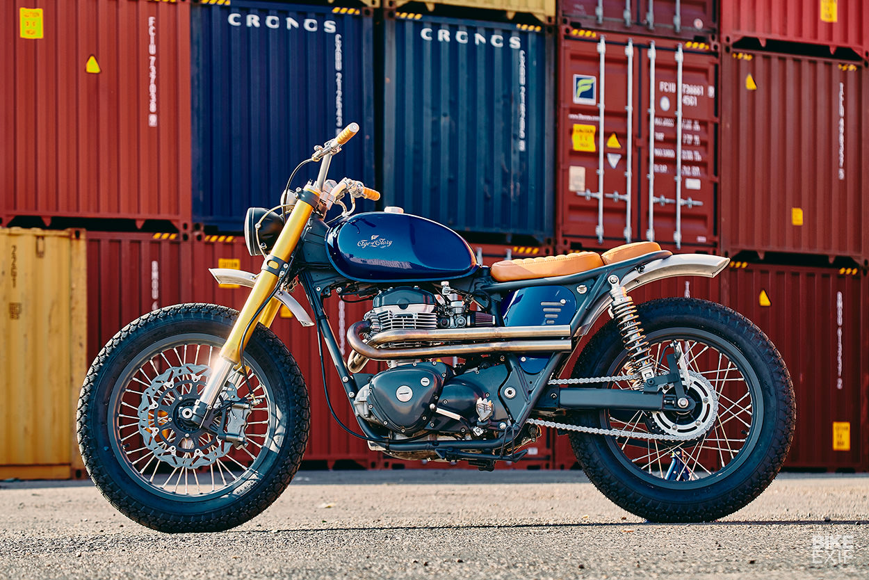Custom Kawasaki W650 by Egerie Motorcycle and Age of Glory