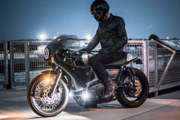 Triumph Street Cup cafe racer by CROIG