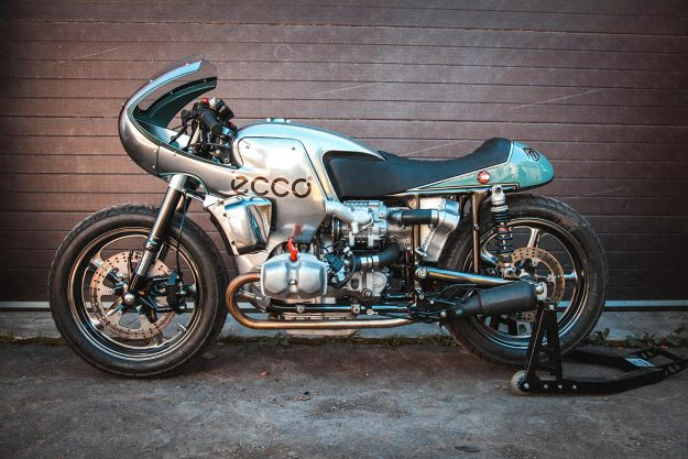Ural land speed motorcycle by Fine Custom Mechanics
