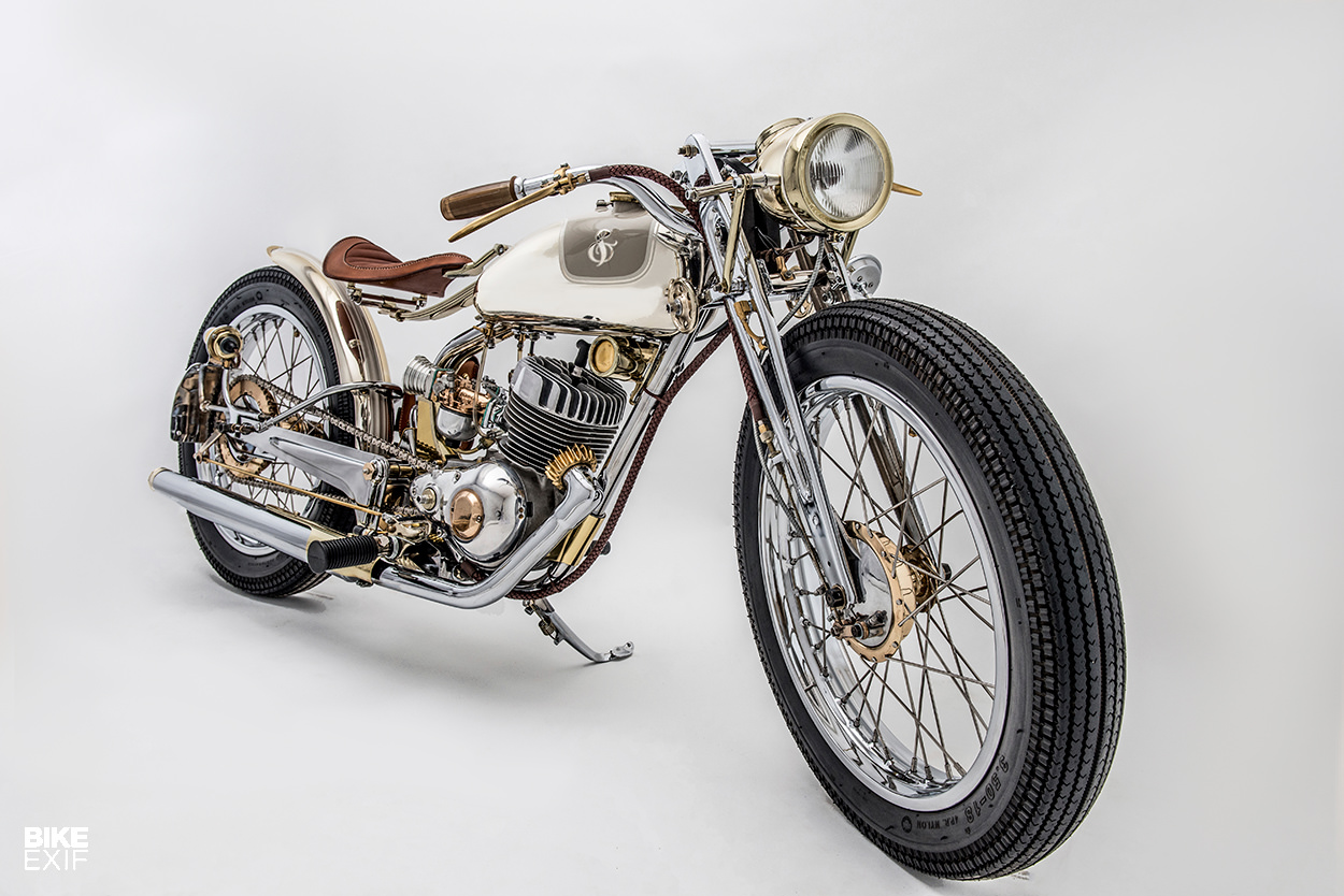 Superunknown A First Time Builder Hits The Big Bike Exif Power Wheels Harley Davidson Parts Jackson Then Reworked Triple Tree So How Could Mount One Off Handlebars Those Feature Custom Internal Throttle With No Less Than 13 In