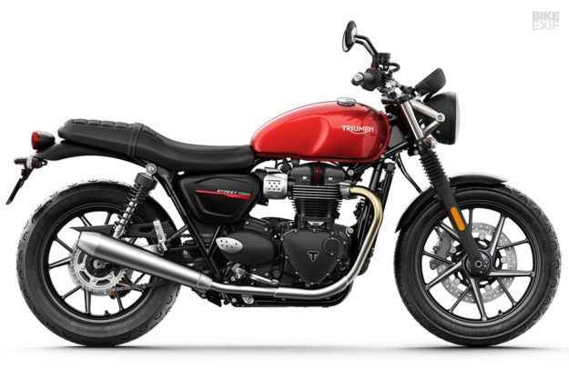 2019 Triumph Street Twin: specs and images