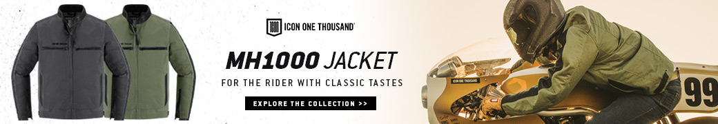 The new ICON 1000 MH1000 jacket