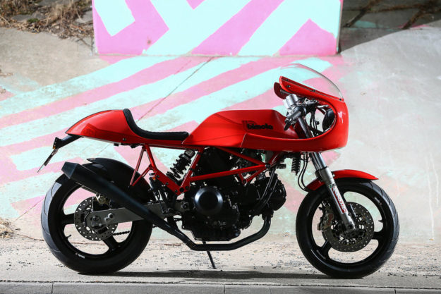 Bimota DB1 restomod by Made In Italy