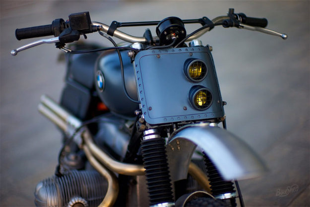 BMW R80 dune basher by Dust Motorcycles