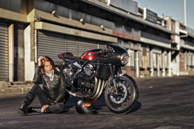 Custom Kawasaki Z900RS by MRS Oficina