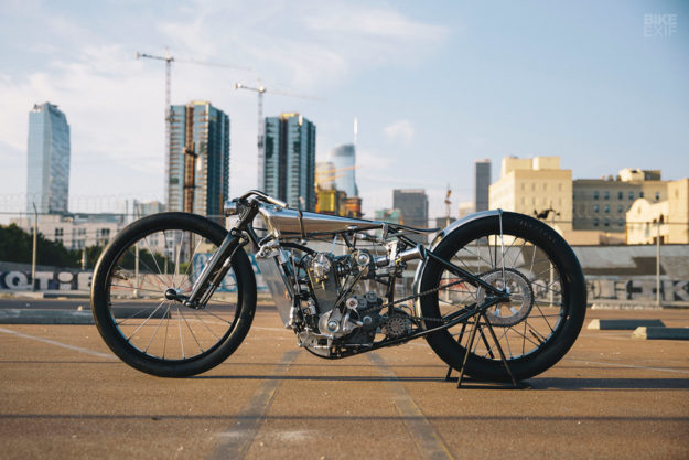 Max Hazan's supercharged KTM custom motorcycle
