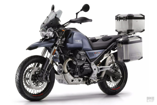 Moto Guzzi V85 TT: Specs and images