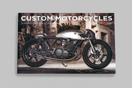 On Sale Now: The 2019 Motorcycle Calendar