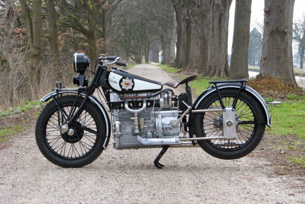 The Windhoff Four Cylinder motorcycle