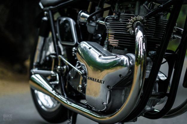 Next Level: An extraordinary Kawasaki W1R recreated by Raccia Motorcycles