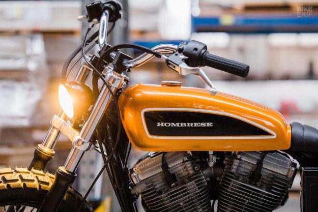 Custom 2003 Sportster 883 by Hombrese Bikes