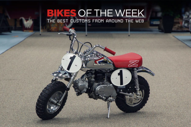 The best cafe racers, minibikes and customs of the week