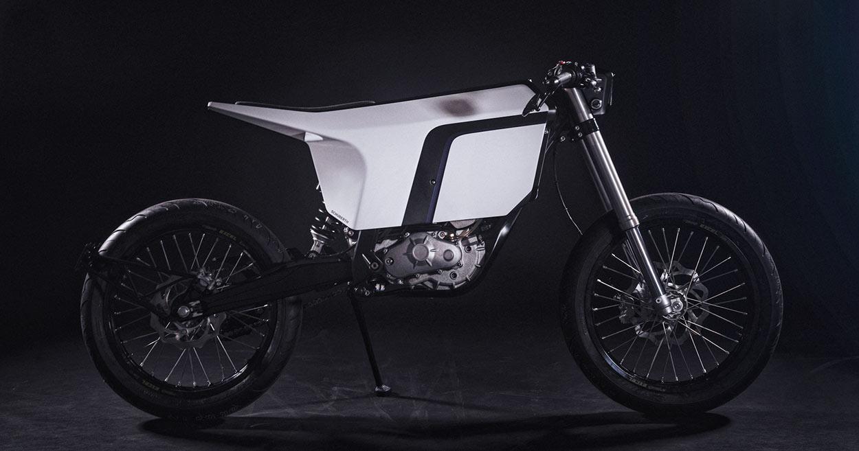 Enjoy the Silence: A KTM electric bike built for Schuberth