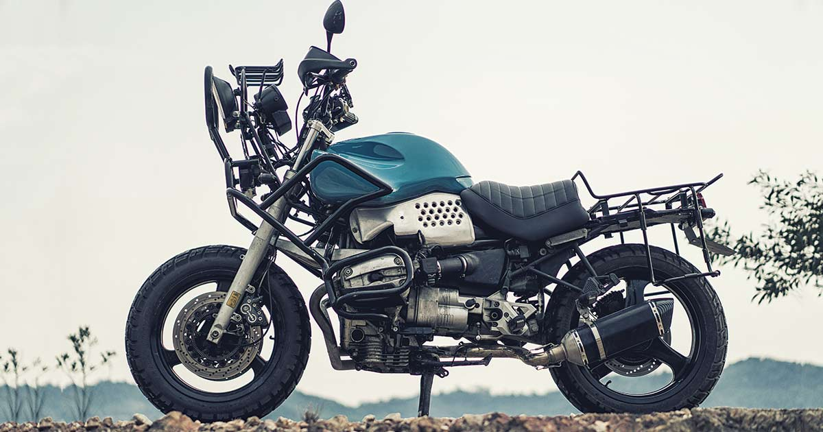 Brutal BMW: A bonkers custom R1100 RS from Malaysia