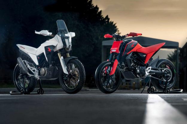 Honda CB125X and CB125M concepts