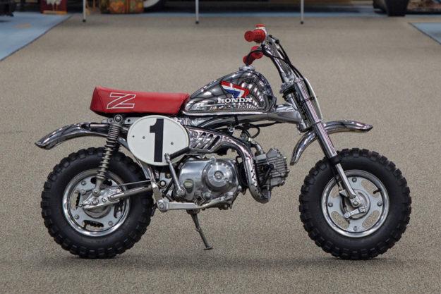 Honda Monkey Z50R racing minibike motorcycle