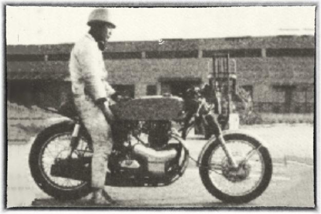 The rare Kawasaki W1R racing motorcycle