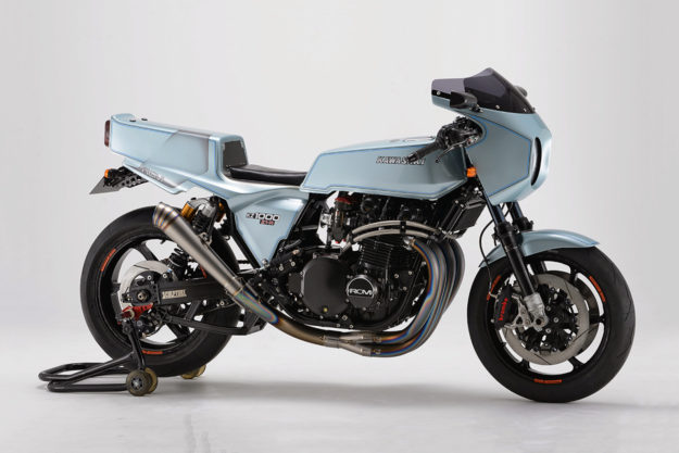 Kawasaki Z1000 Z1-R restomod by AC Sanctuary